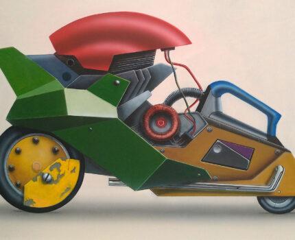 Yeşil Kaportalı Makine